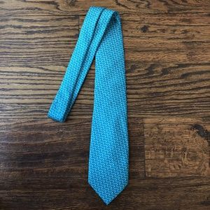 Vineyard Vines Custom Natixis Waves Silk Tie